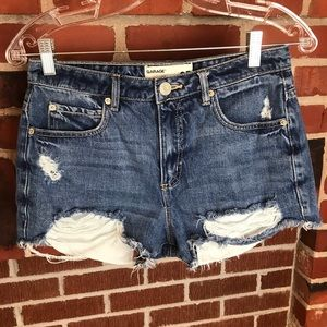 Garage Distressed Festival Shorts Size 05
